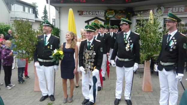 Das Königspaat 2013 in Andreasberg: Jana Schaub und André Hamedinger