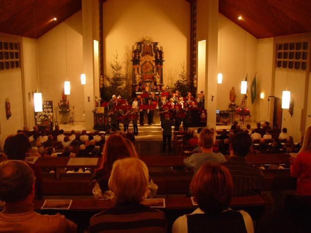 Das Weihnachtskonzert des Musikverein Liesen e.V. in der St. Thomas Ap.-Kirche in Hallenberg-Liesen.
