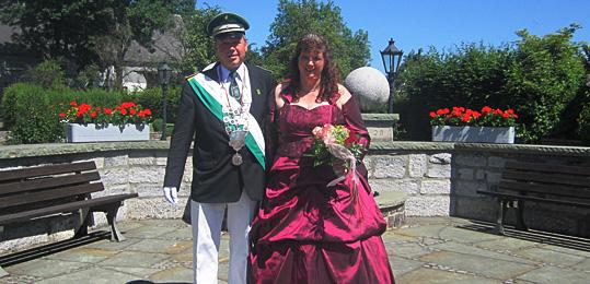 Königspaar in Altenüren 2013/2014: Friedhelm und Rita Körner